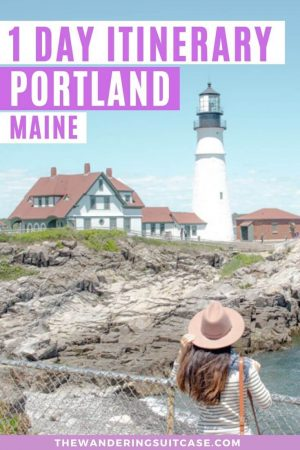 1 day in Portland Maine