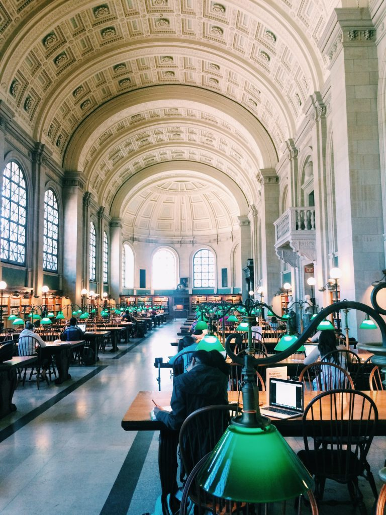 Free things to do in Boston - Boston Public Library