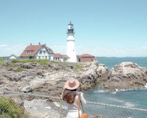 Portland Maine Lighthouse feature image