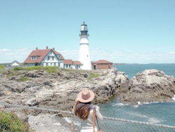 Portland Maine Lighthouse feature image