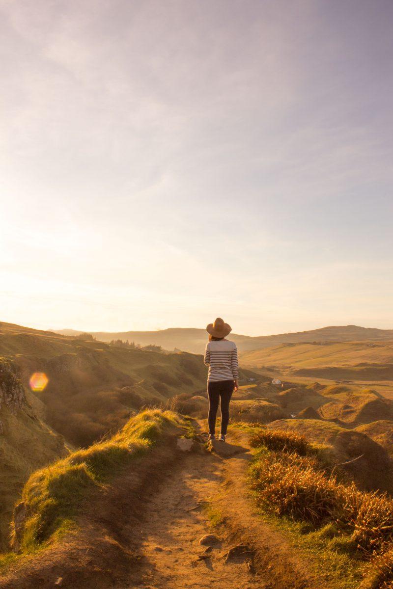 Isle of Skye photography locations - Fairy Glen, Scotland