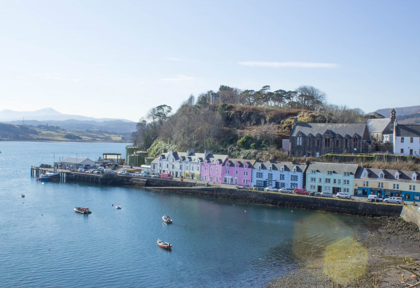 must see locations on the isle of skye - Portree, Scotland