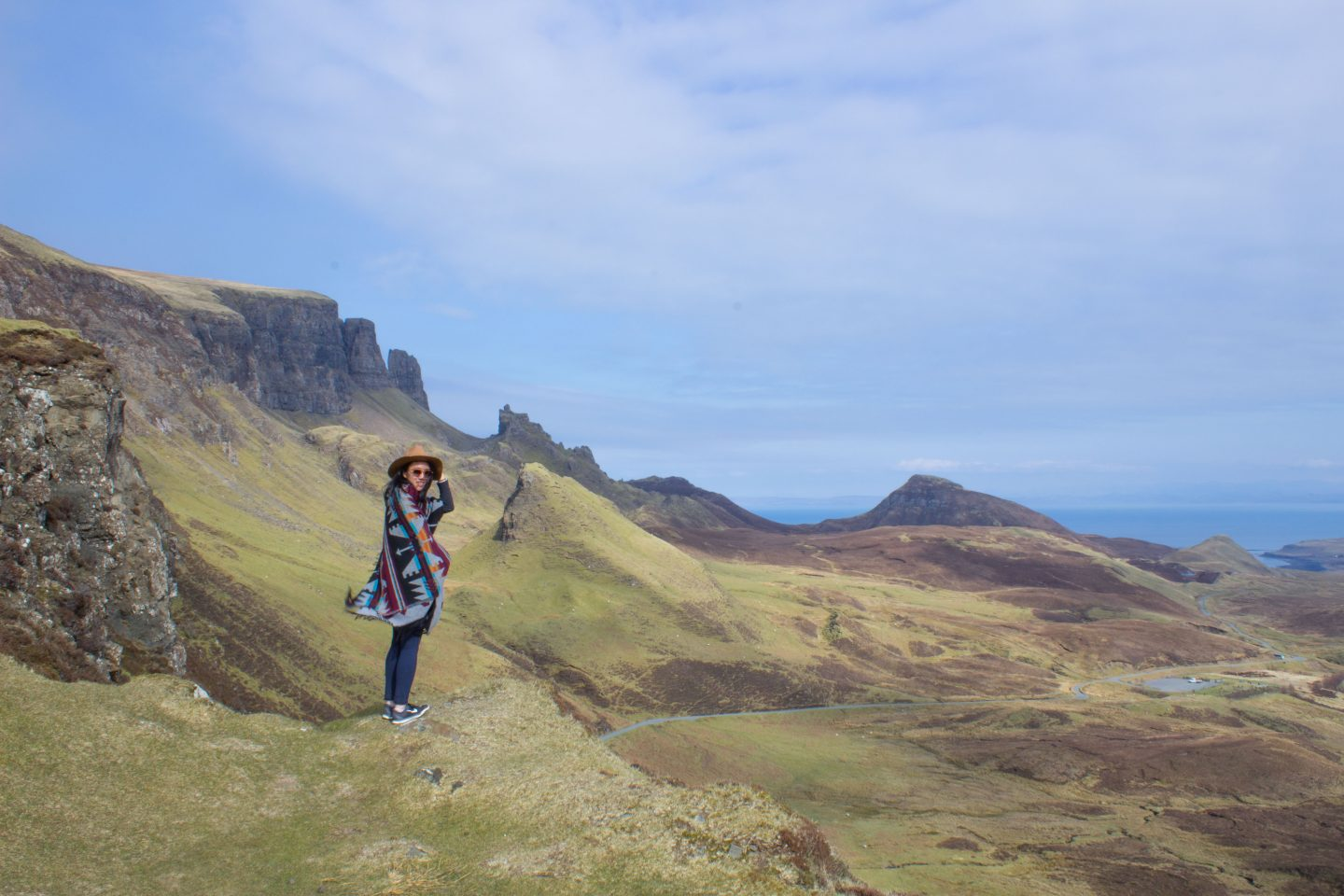 must see locations on the isle of skye - Quariang Mountains, Scotland