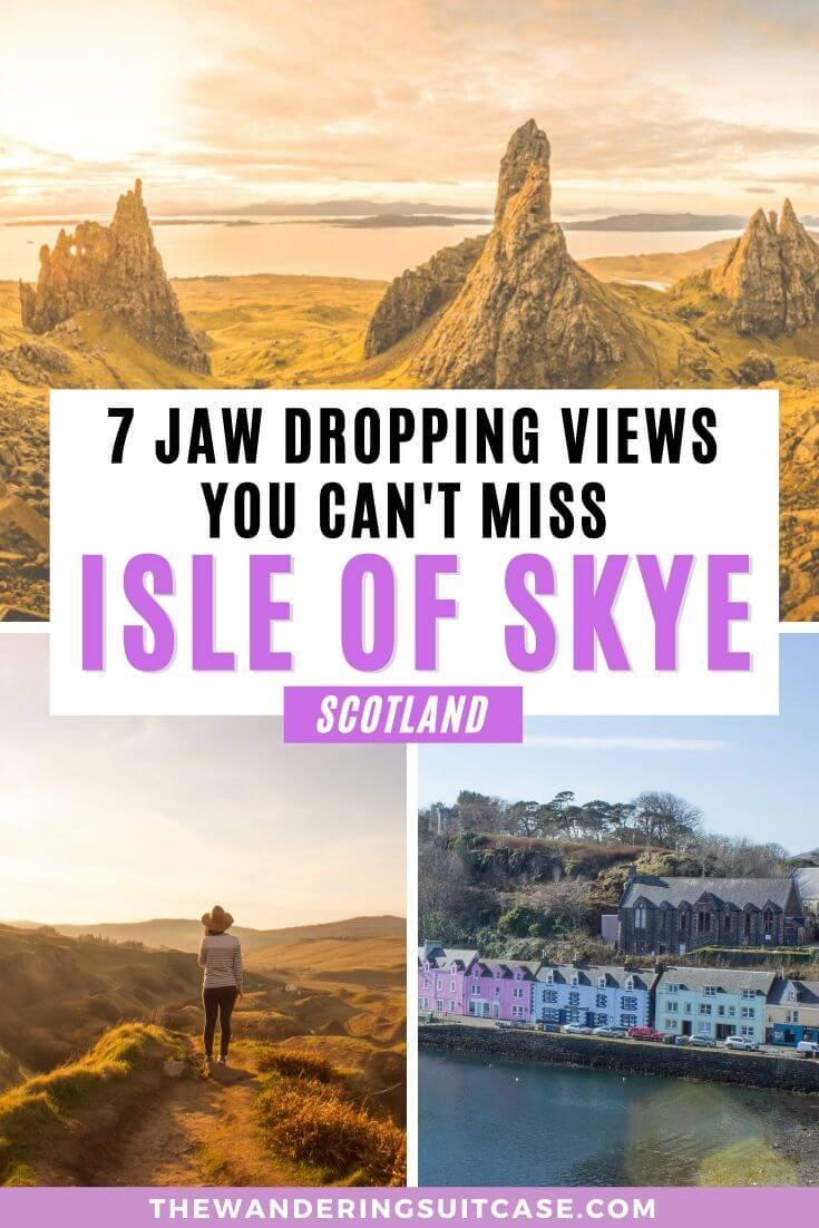 Must sees on the Isle of Skye Scotland