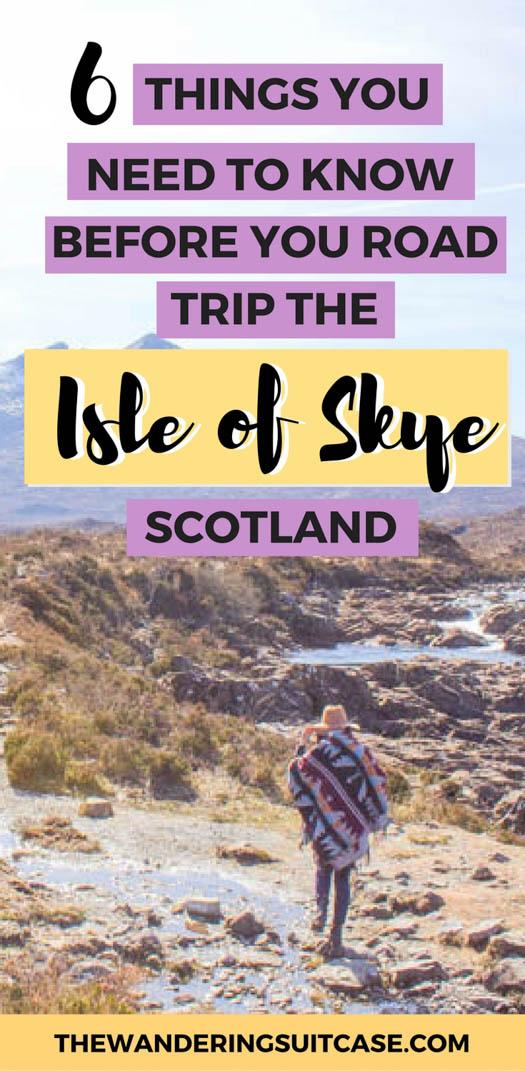 driving on the isle of skye