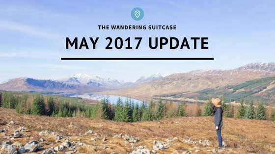 The Wandering Suitcase update: May 2017