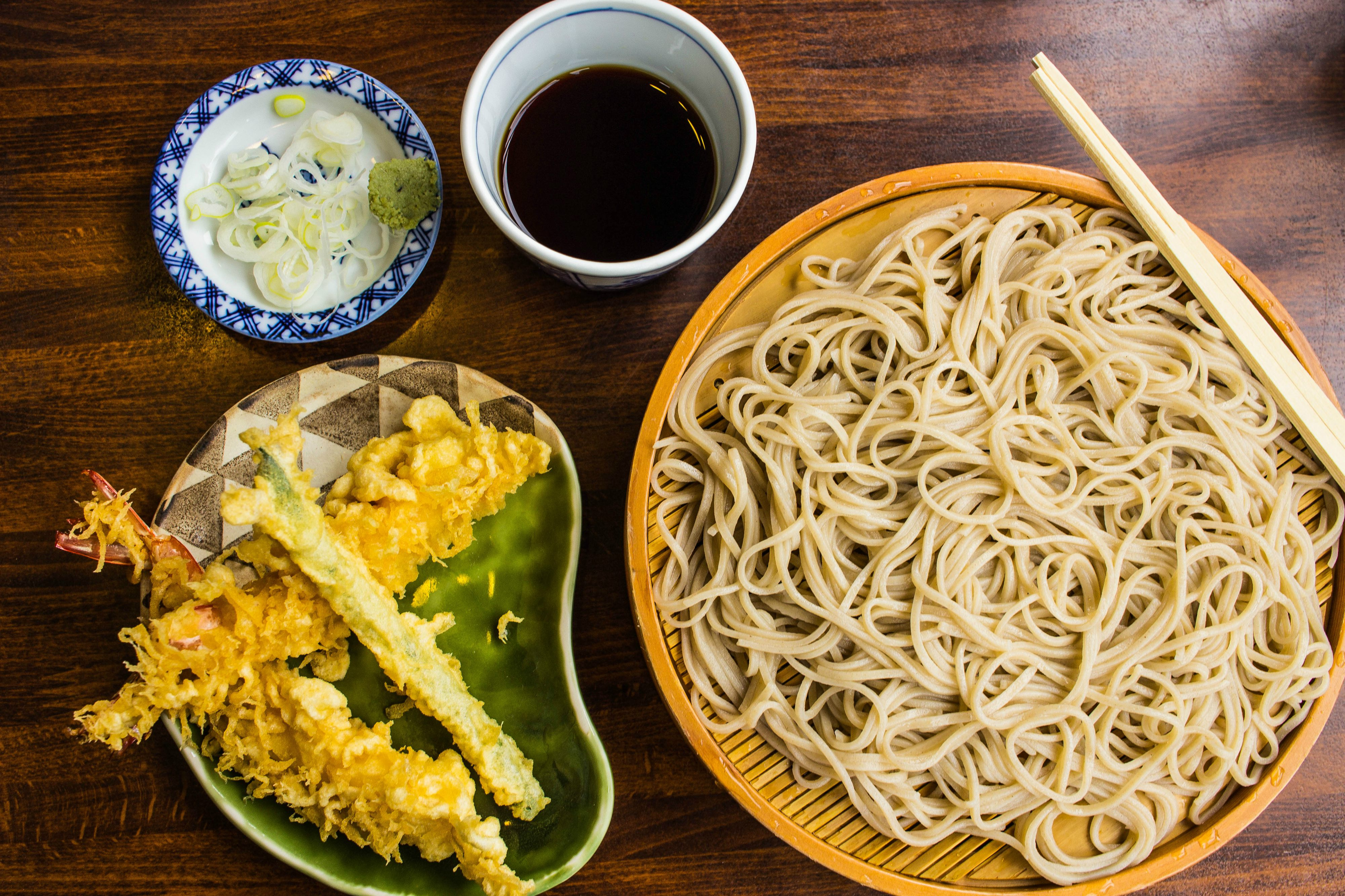 Japan Food Travel Soba Noodles