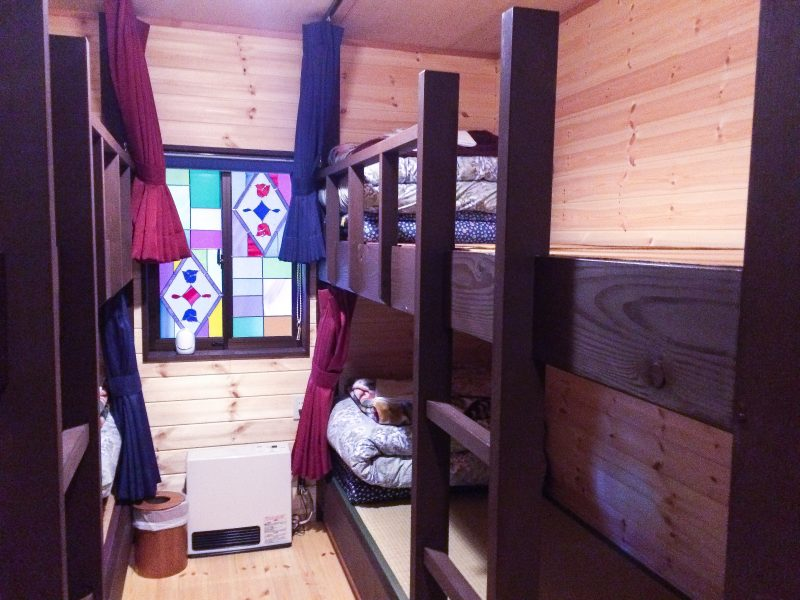 traveling on a budget in Tokyo hostel