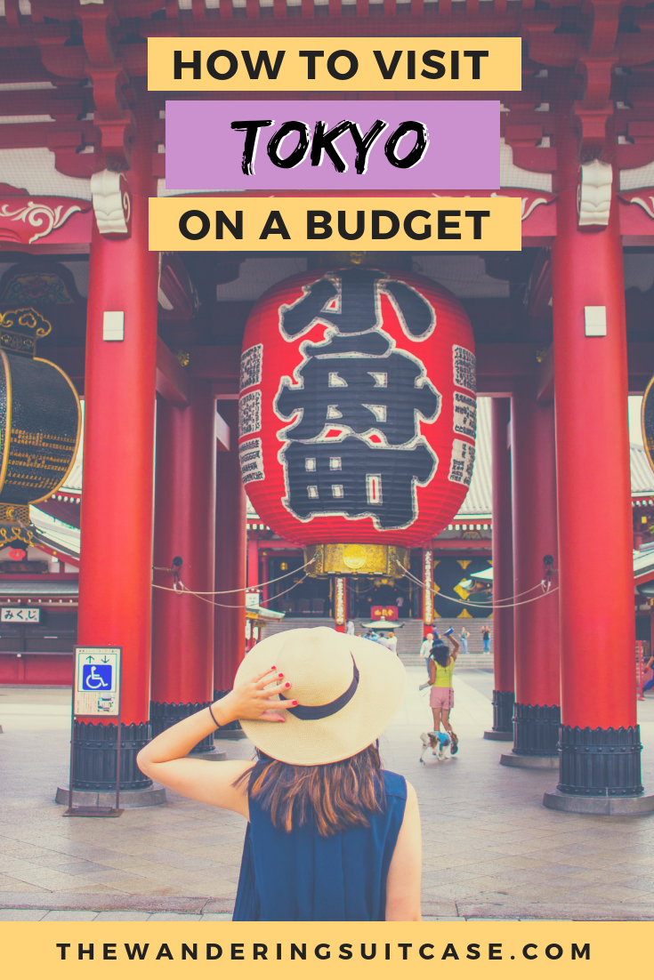 traveling on a budget in Tokyo