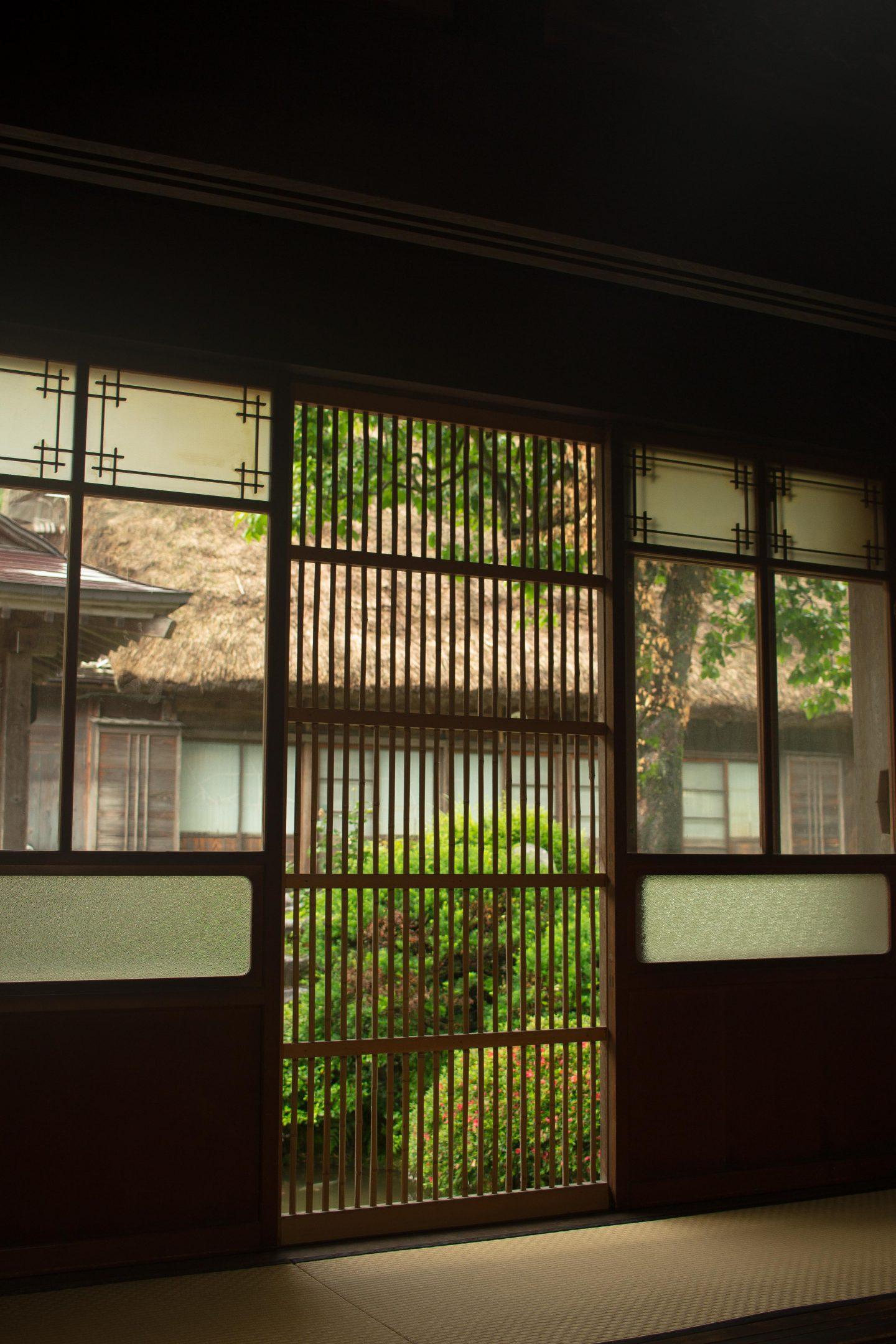 shirakawago travel tips window