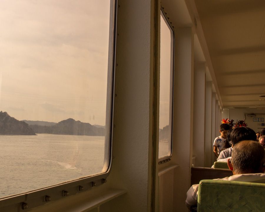 On the Naoshima Island Ferry