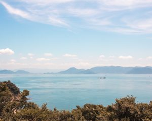 Sea views from Naoshima Island