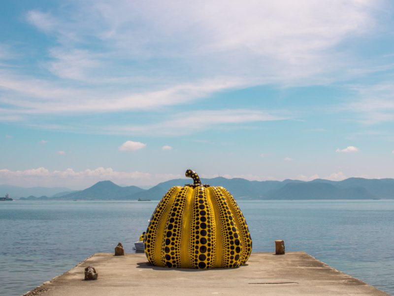 The Giant Pumpkin Naoshima Island