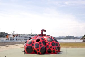 The Red Pumpkin Naoshima Island