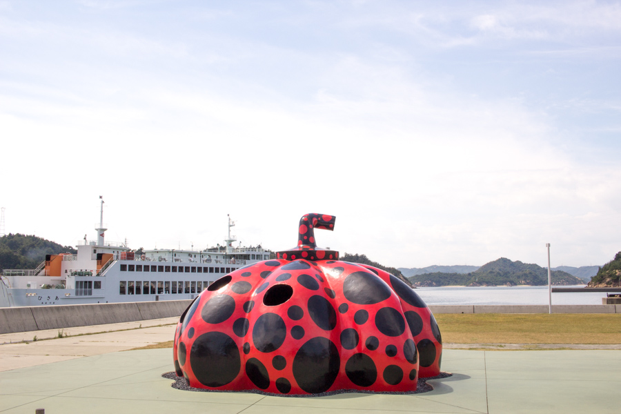 The Red Pumpkin Naoshima Island