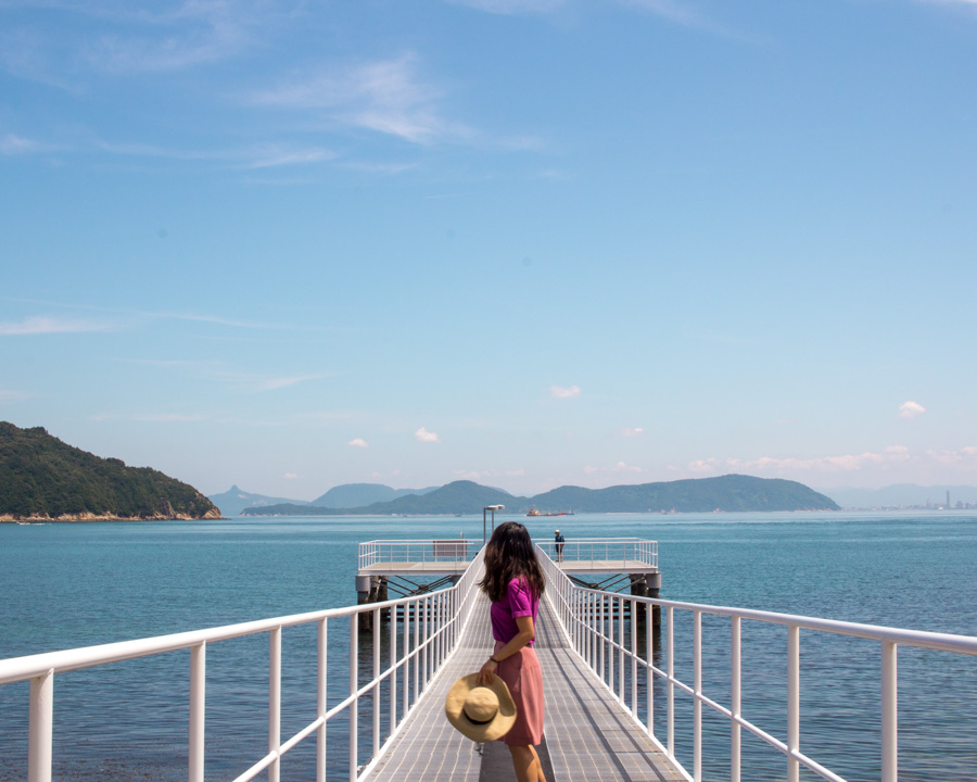 Views on Naoshima