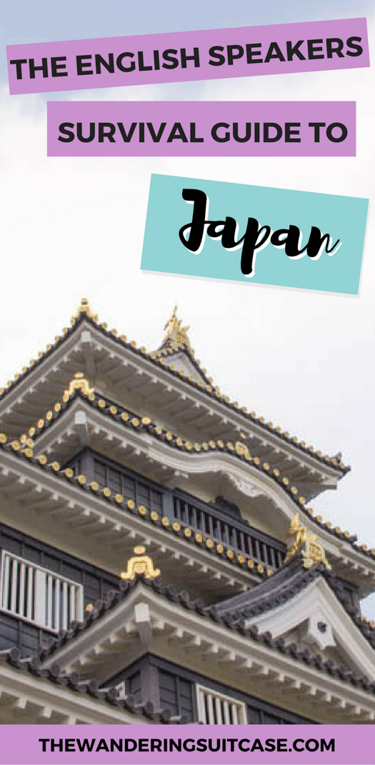 travel in Japan as an English speaker