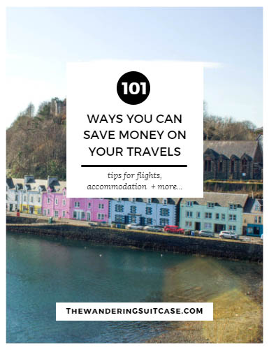 101 ways you can save money on your travels screenshot