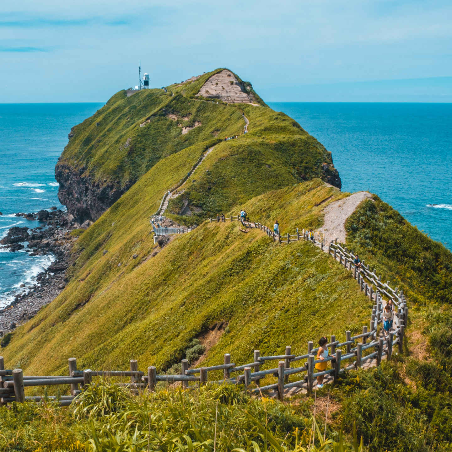 Favorite Places in Japan - Cape Kamui-Hokkaido