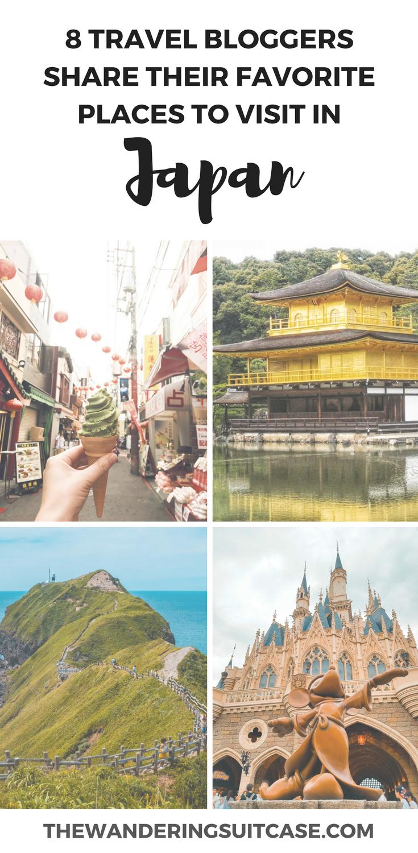 Favorite places in Japan