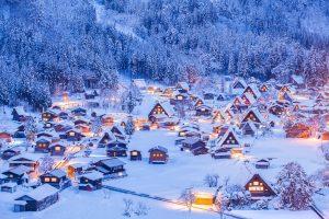 Japan packing list - shirakawago winter