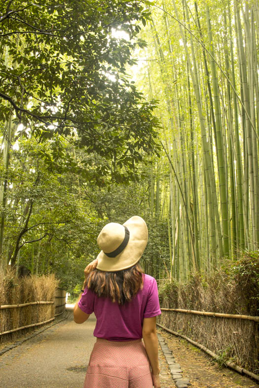 how to avoid crowds in kyoto
