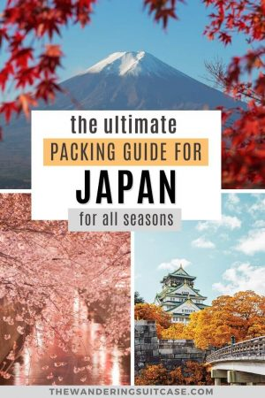 the ultimate packing guide for Japan