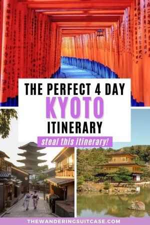 4 days in Kyoto