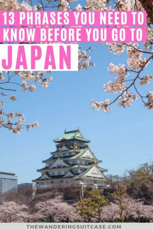 Phrases to know before you go to Japan