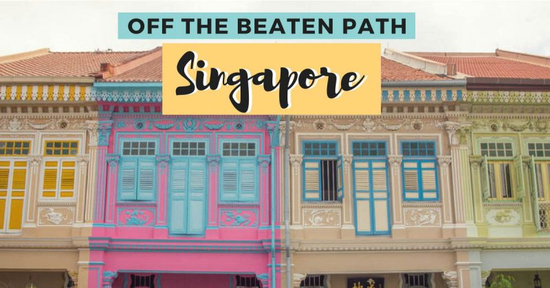 Singapore off the beaten path