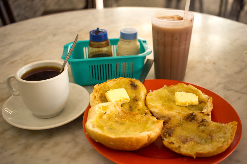 singapore off the beaten path - kaya toast