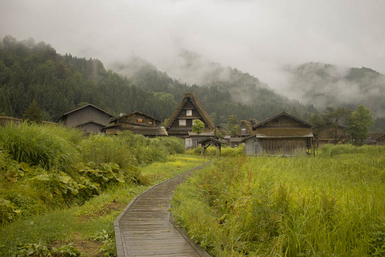 off the beaten path in Japan - Shirakawago