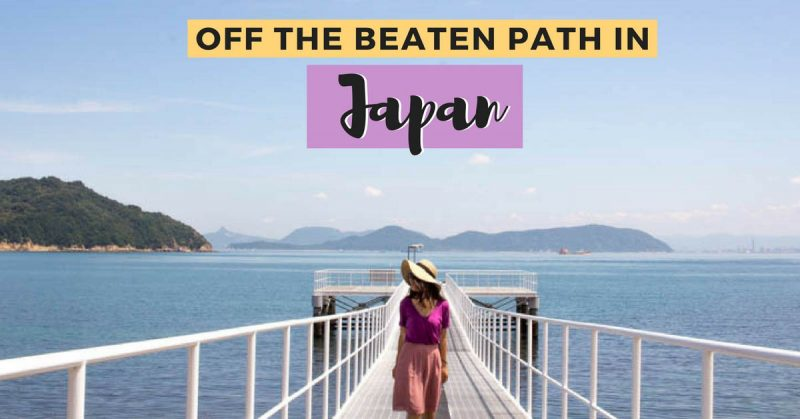 off the beaten path in Japan