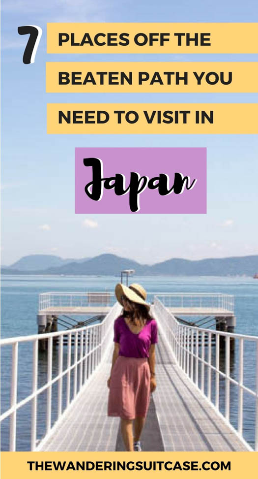 Places to visit in Japan | Off the beaten path Japan | Off the beaten track | Japan itinerary | Japan itinerary inspiration | Places to go Japan | #Japantravel #offthebeatenpathjapan