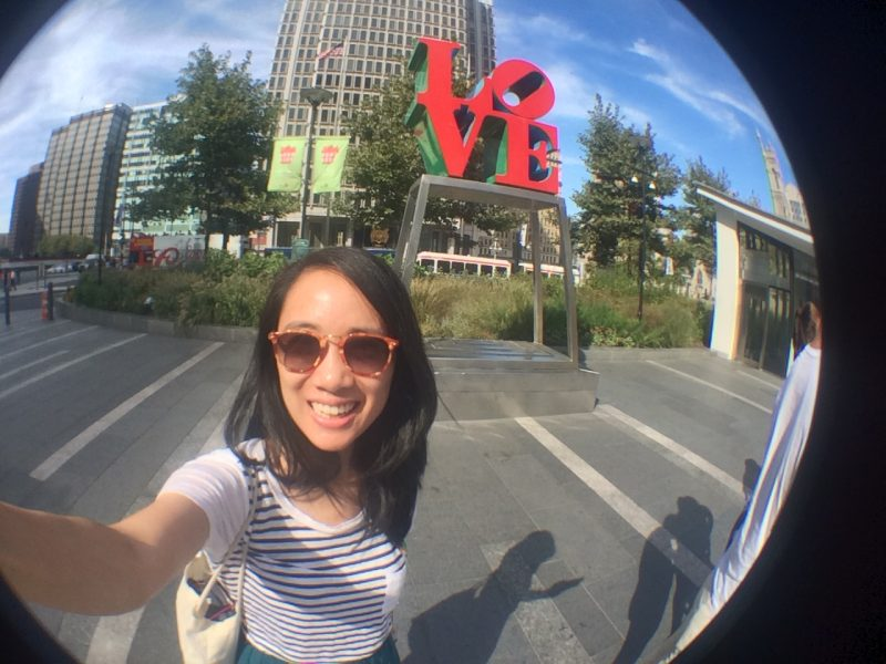 Travel Selfies - Philadelphia