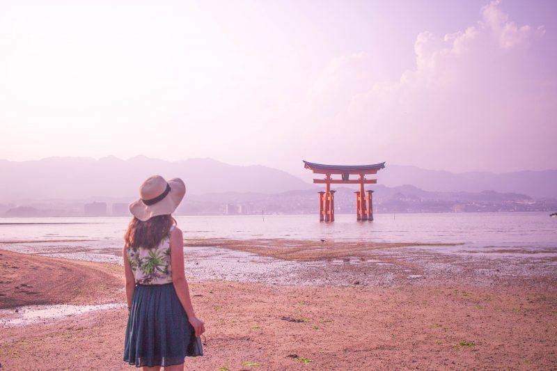 Travel Selfies - Miyajima Island, Japan