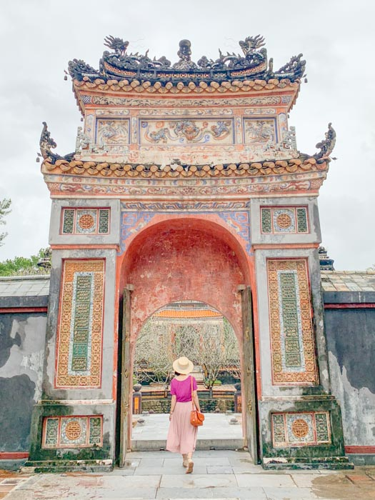 1 day in Hue - Tu Duc tomb 2