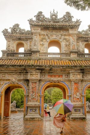 1 day in Hue - imperial city 2