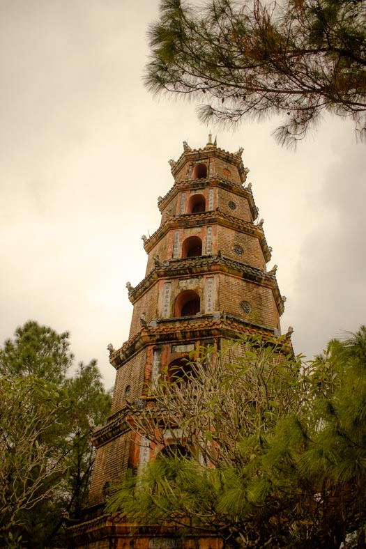 1 day in Hue - thien mu pagoda