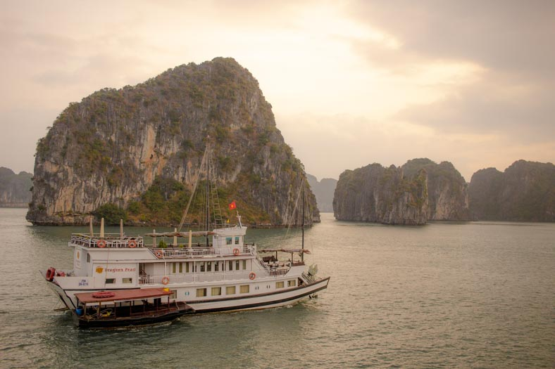Halong bay alternative - boat