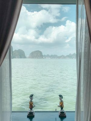 Halong bay alternative room view