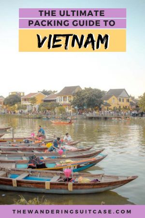Packing List for Vietnam