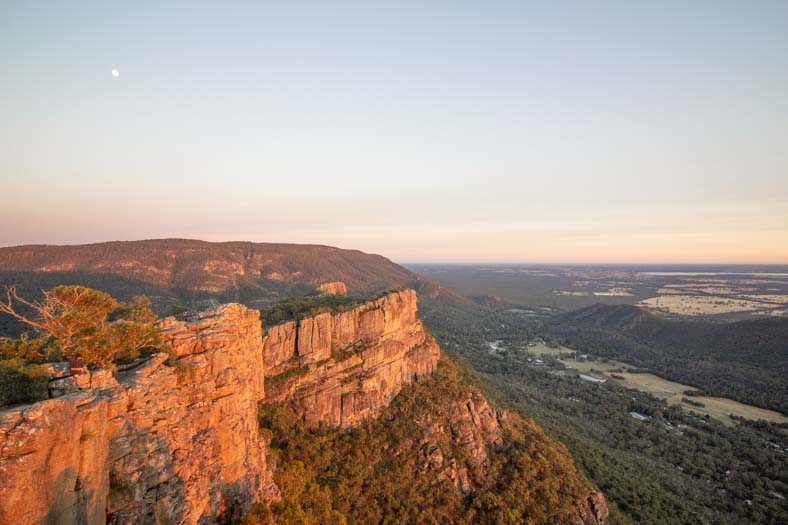 grampians hikes - pinnacle