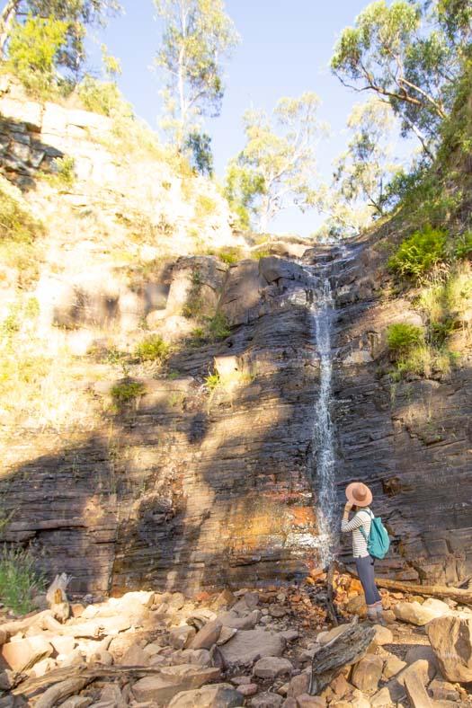grampians hikes - silverband falls
