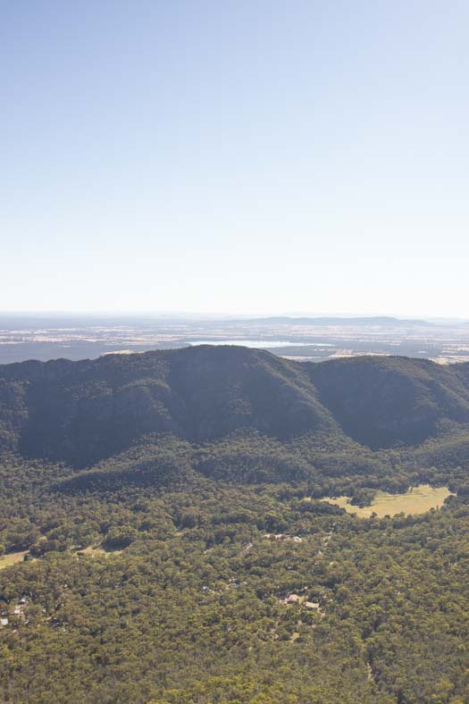 pinnacle grampians - during the day