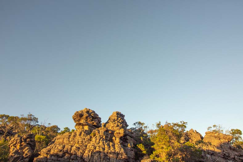 pinnacle grampians - rock formations