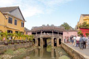responsible travel in Hoi an - bridge
