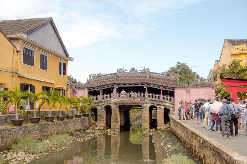 responsible travel in Hoi an - bridge