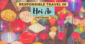 responsible travel in Hoi an