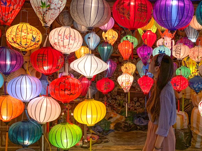responsible travel in vietnam - hoi an lanterns
